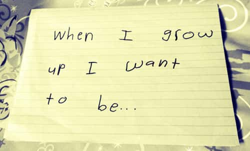 What to be when you grow up....?