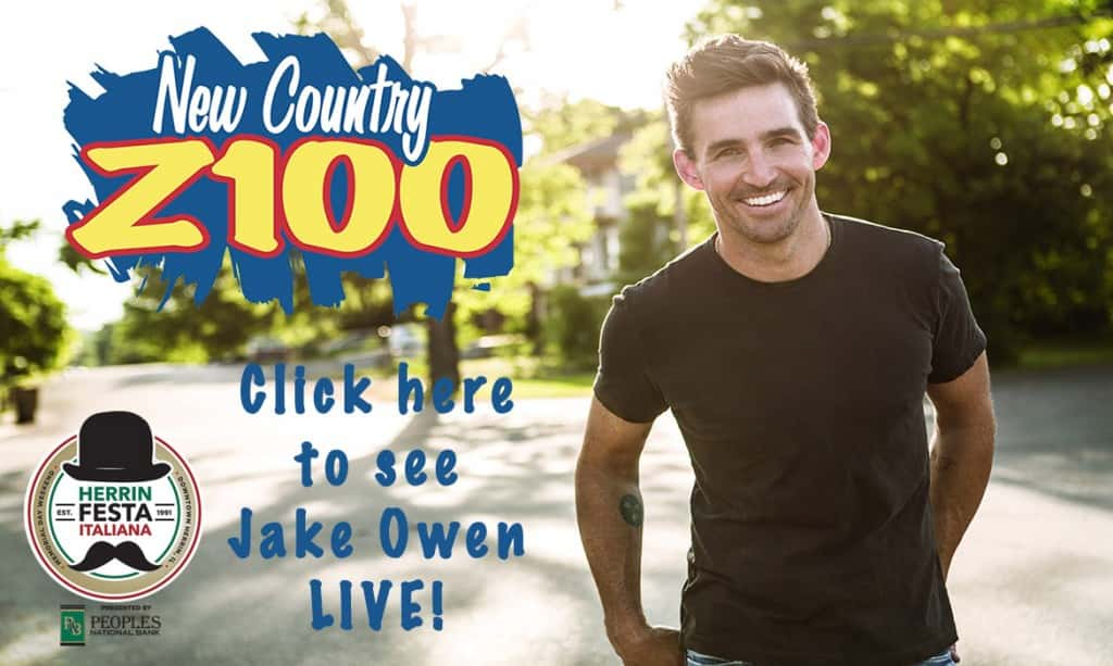 Do you want to see Jake Owen LIVE?!