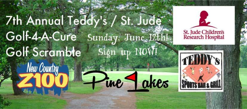 Teddy's St. Jude Golf Scramble 2016