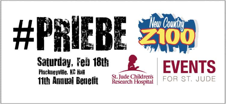 11th Annual Priebe Brothers Band Benefit for St. Jude!