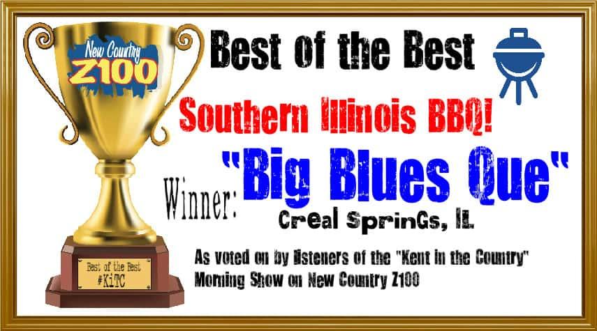 big blues cue certificate