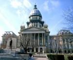 Illinois State Capitol Building in Springfield Illinois.