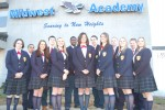 A group of students at Midwest Academy. From the school's website.