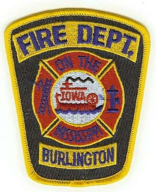 burlington fire