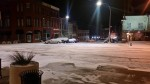 Intersection of 4th and Washington Street at around 5:00 am Sunday morning.