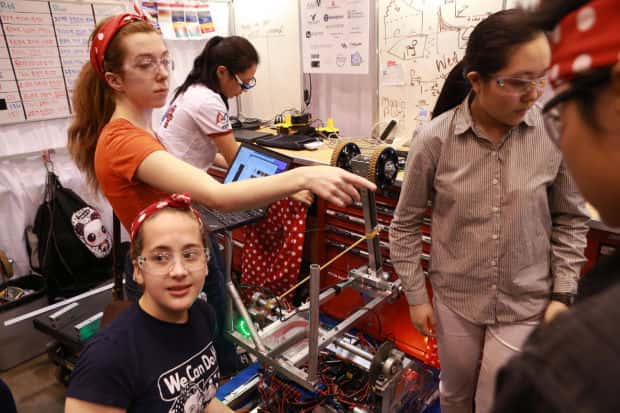 competitors at the World Robots Competition in St. Louis.  Image from, stltoday.com