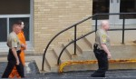 Randall Thomas Payne is escorted from the Des Moines County Courthouse following the Monday verdict.