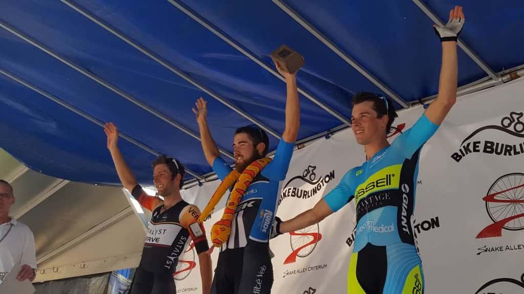 Saturday's winners from L to R: 2nd Place winner Christopher Winn, 1st Place Winner Nathan Zimmer, 3rd Place Winner Joshua Johnson.