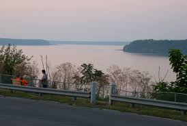 View of Mississippi River from Rand Park in Keokuk.