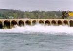Dam spillways in Keokuk