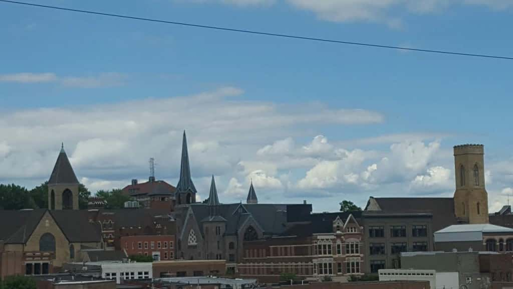 steeple town