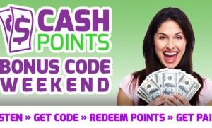 Cashpoints Weekend Slider