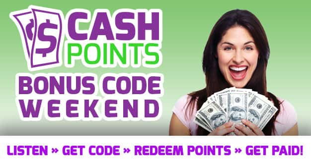 Cashpoints Weekend Slider