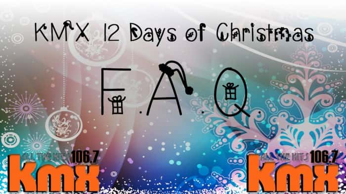 12 Days of Christmas - FAQ