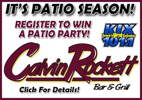 patio party calvin rockett