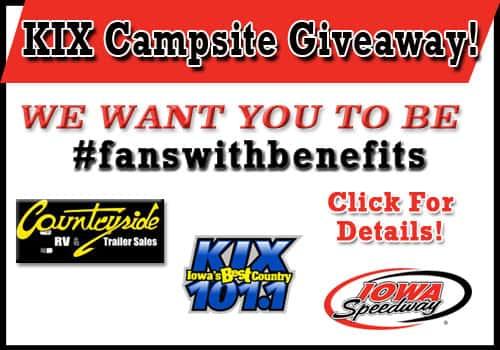 Kix Campsite Giveaway