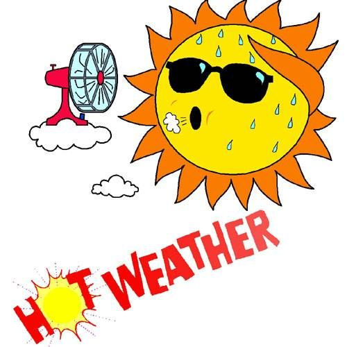 Extreme Hot Weather Fans : More hot weather on the way kix