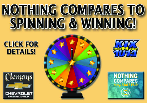 spinning and winning