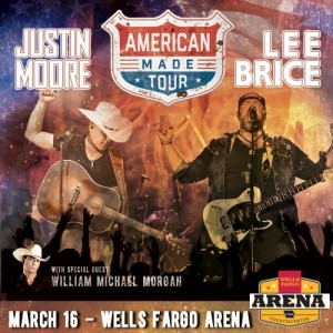 Justin Moore Lee Brice