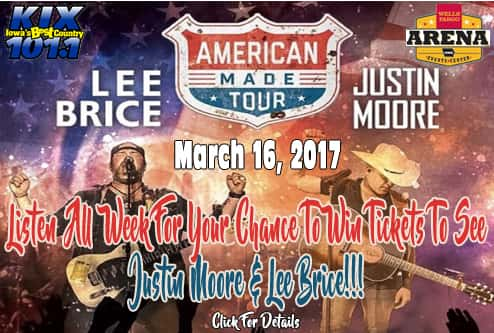 Lee Brice & Justin Moore2 2016