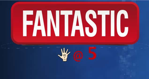 Fantastic 5 Slider