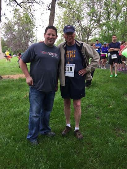 Butch Alford from the Lewiston Morning Tribune, and Lee McVey