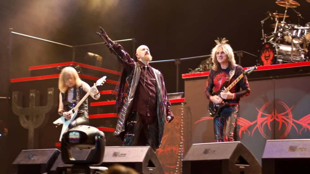 judas priest release cover art and first music from 39 firepower 39 intertech media. Black Bedroom Furniture Sets. Home Design Ideas