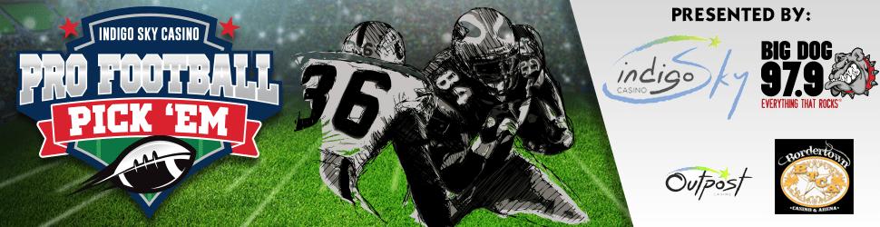 Big Dog 979 Pro Football PickEm