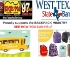 Proudly supports the BACKPACK MINISTRY