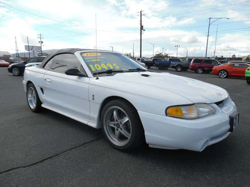 1998 Ford Mustang Cobra Convertible Supercharged LOW MILES $10495