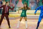 """L-R: Garrett Clayton as Link Larkin, Ariana Grande as Penny Pingleton, Ephraim Sykes as Seaweed J. Stubbs in """"Hairspray Live!""""; Paul Drinkwater/NBC"""