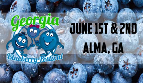 44th Annual Georgia Blueberry Festival Happening June 1st-2nd!