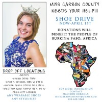 Miss Carbon County Shoe Drive
