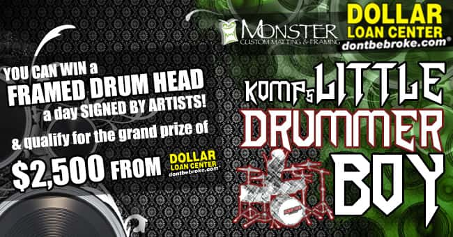 KOMP's Little Drummer Boy