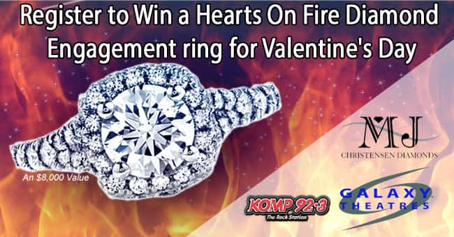 Win a Hearts on Fire Diamond Engagement ring from MJ Christensen Diamond Jewelers
