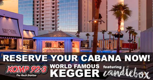 Get your KOMP Kegger cabana today!