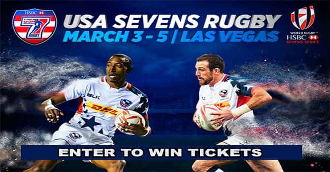 Click To Win Tickets To USA 7'S Rugby