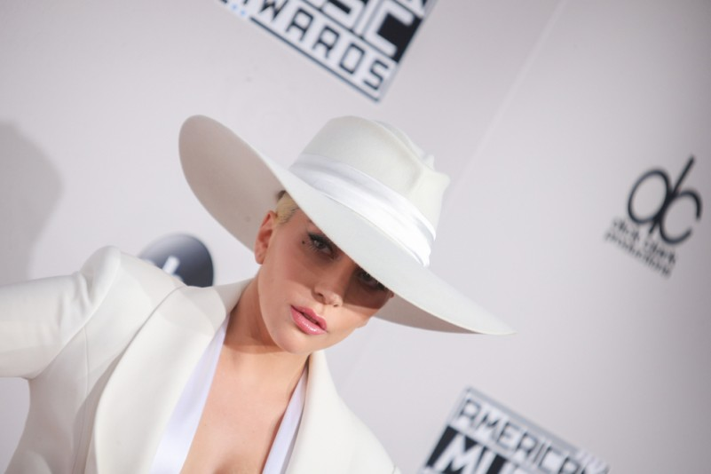 11/20/2016 - Lady Gaga - 2016 American Music Awards - Arrivals - Microsoft Theater, 777 Chick Hearn Court - Los Angeles, CA, USA - Keywords: Horizontal, California, Arts Culture and Entertainment, Celebrities, Celebrity, Person, People, Red Carpet Event, Annual Event, Topix, Bestof, Portrait, Photography, Photograph, 2016 AMA Awards, California Orientation: Portrait Face Count: 1 - False - Photo Credit: PRPhotos.com - Contact (1-866-551-7827) - Portrait Face Count: 1