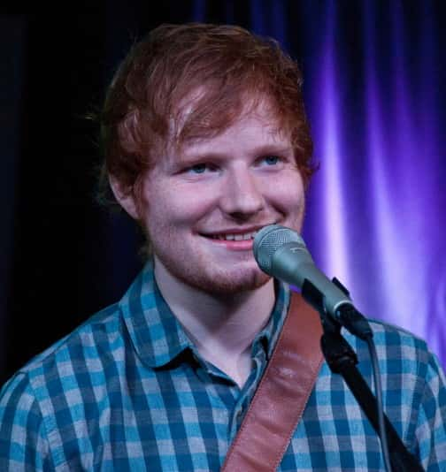 07/04/2014 - Ed Sheeran - Ed Sheeran in Concert at Q102 and Mix 106 Performance Theatre in Bala Cynwyd - July 04, 2014 - Q102 and Mix 106 Performance Theatre - Bala Cynwyd, PA, USA - Keywords: Headshot, Head shot, Ed Sheeran, British, Singer, Songwriter, Musician, Music, Pop, Folk, Acoustic, Vocals, Guitar, Entertainment Orientation: Portrait Face Count: 1 - False - Photo Credit: Paul Froggatt / PR Photos - Contact (1-866-551-7827) - Portrait Face Count: 1