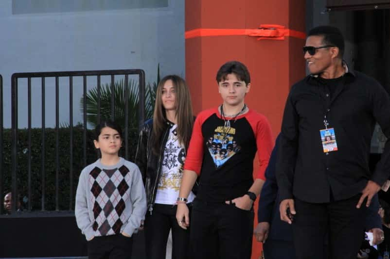 "01/26/2012 - Blanket, Paris and Prince Jackson, Jackie Jackson - ""Michael Jackson Immortalized"" Hand and Footprint Ceremony in Hollywood on January 26, 2012 - Grauman's Chinese Theater  - Los Angeles, CA, USA - Keywords:  Orientation: Portrait Face Count: 1 - False - Photo Credit: Tatiana Davidov / PR Photos - Contact (1-866-551-7827) - Portrait Face Count: 1"