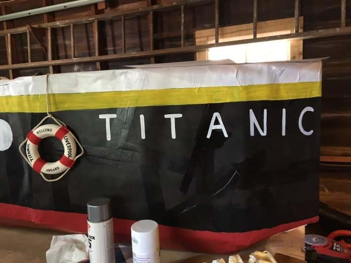 Titanic Cardboard