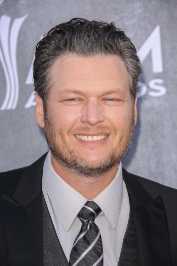 04/06/2014 - Blake Shelton - 49th Annual Academy of Country Music Awards - Arrivals - MGM Grand Garden Arena - Las Vegas, NV, USA - Keywords: 2014 ACM Awards, Nevada, Celebrity, Singer, Songwriter, Performer, Artist, Musician, Music, Award, Fashion, Arts Culture and Entertainment, Celebrities Orientation: Portrait Face Count: 1 - False - Photo Credit: Andrew Evans  / PR Photos - Contact (1-866-551-7827) - Portrait Face Count: 1