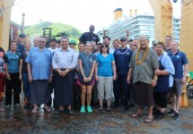 Oscar Elton Sette hosted traditional leaders on board in March