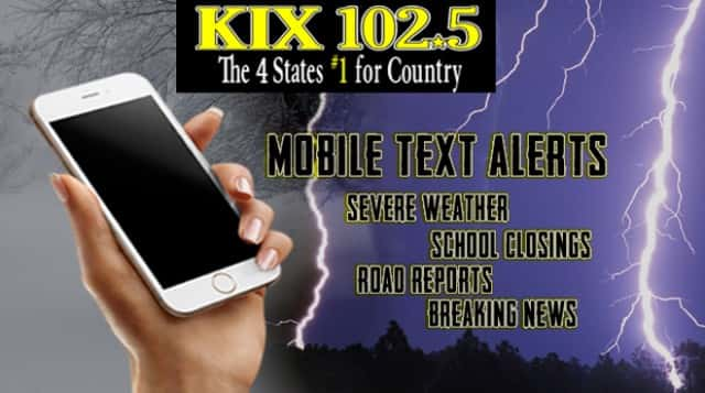 Mobile Text alerts 2016