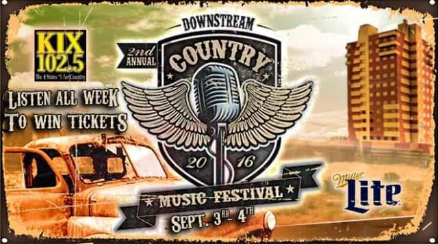 KIXQ COUNTRY MUSIC FESTIVAL 08-18-16