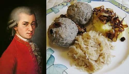 Mozarts Favorite Foods