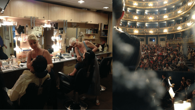 Don Giovanni makeup and announcements