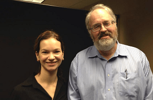 Dave Beck and Hilary Hahn 300x196
