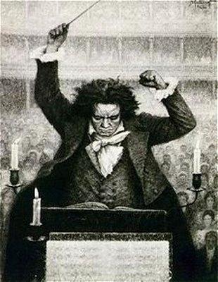Beethoven drawing