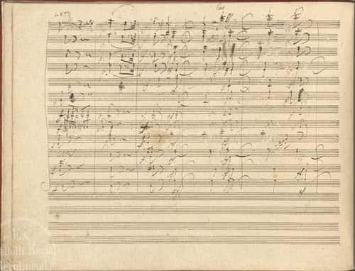 Beethoven9 manuscript